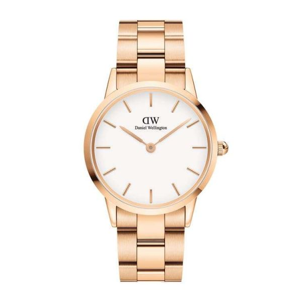 DANIEL WELLINGTON Iconic Link Rose Gold 36mm