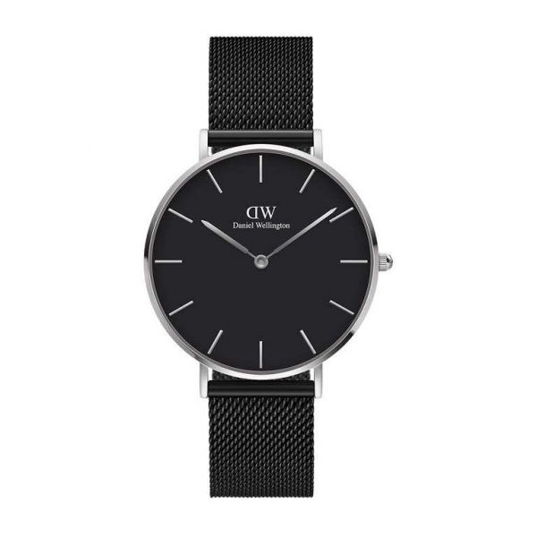 DANIEL WELLINGTON Petite Ashfield 28mm Black