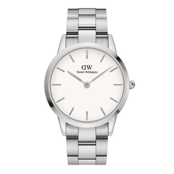 DANIEL WELLINGTON Iconic Link Silver 40mm