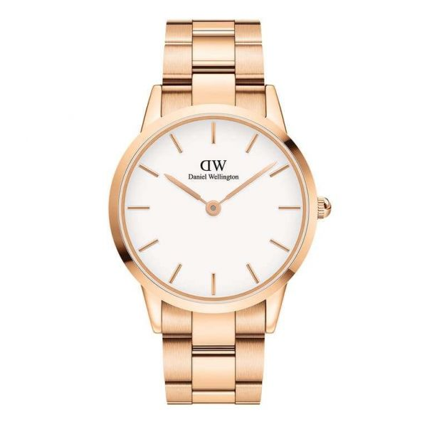 DANIEL WELLINGTON Iconic Link Rose Gold 40mm